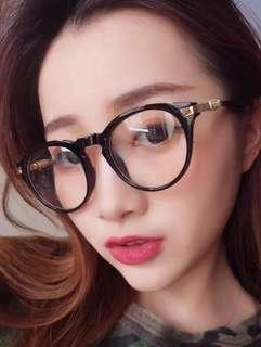 Unisex PC Lens Eye Protection Computer Glass Anti-Fatigue Eyewear Spectacle Frame Degree Prescription Available