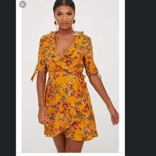 INFLUENCE FLORAL DRESS