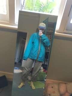 Aqua spray jacket
