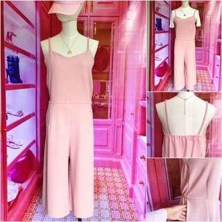 Korean Jumpsuit pink