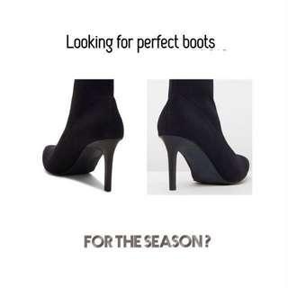 Ruffle Ankle Boots for Women