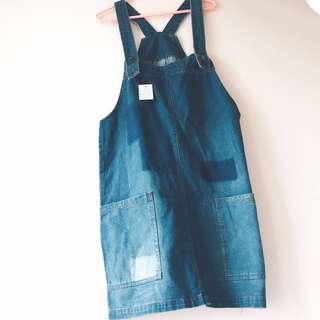 日本牛仔工人裙👖