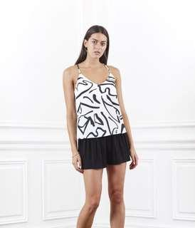 SHILLA THE LABEL - ORNATE PRINT CAMI