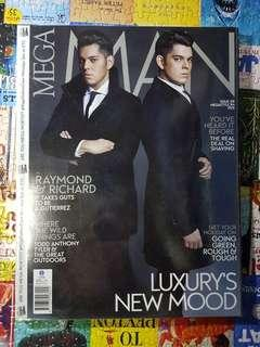 Richard and Mond Gutierrez - Mega Man Magazine