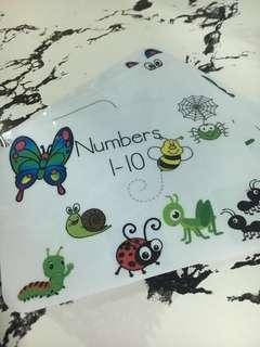 Tracing Numbers Activity Cards