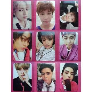 [PO] NCT 127 Cherry Bomb Official Photocards Set