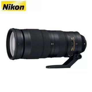 Nikon AF-S 200-500mm F5.6E ED VR LENS
