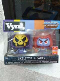 Heman Skeletor and Faker 2018 Summer Convention Vinyl Funko