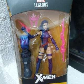Marvel Legends Purple color Psylocke w/baf