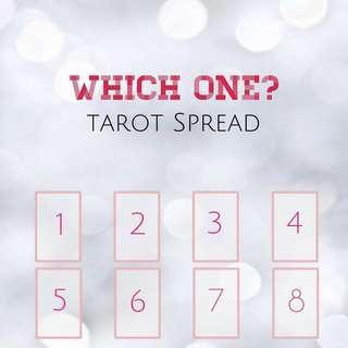 Which One? Tarot Love Spread
