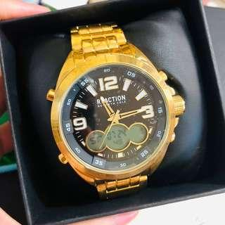 Kenneth Cole Reaction Men's Watch (Gold)