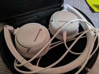 Beyerdynamics DTC 501P on-ear headphones