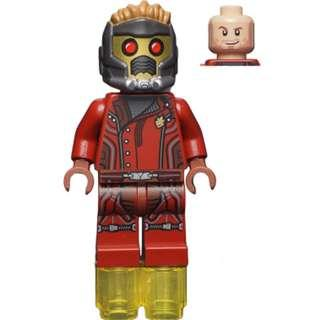 Lego Marvel Super Heroes - Star Lord 76021 Guardians of the Galaxy Minifigure new