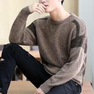 🏘URBAN🏘 Melioris Bi-Tone Long Sleeve Pullover Top