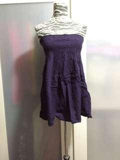 Purple checkered top, no bargaining