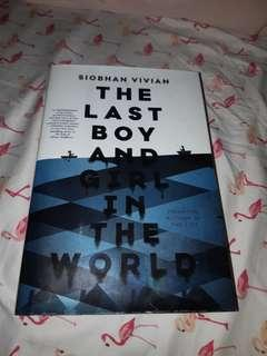 Book for sale: The Last Boy and Girl in the World by Siobhan Vivia