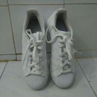 Sepatu Adidas Super Star Original Putih