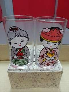 玻璃杯 日本風情 Glass
