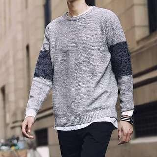 🏘URBAN🏘 Crescit Bi-Tone Scottish Long Sleeve Pullover Top