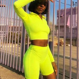 NEON TWO PIECE SET