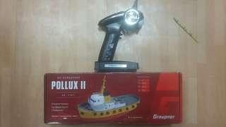 rc-schlepper POLLUX II no. 21011 領航船 連遙控器及配件