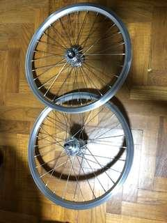Brompton 2 Speed Rims