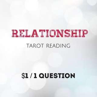 Relationship 1 question tarot reading