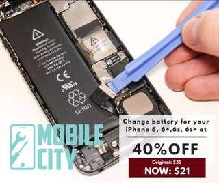 Iphone battery replacement