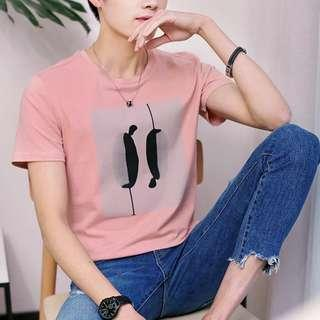 🏘URBAN🏘 Mors Silhouette Prints Tee Shirt Top