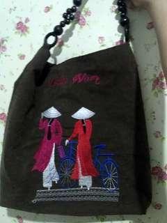 Ethnic bag tas sulam