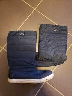 Womens lacoste boots sz 6