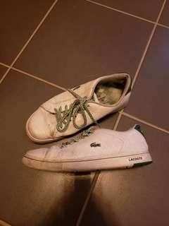 Mens lacoste shoes sz 8