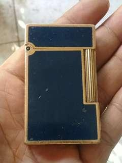ST Dupont Lighter Gold Plated France AUTHENTIC