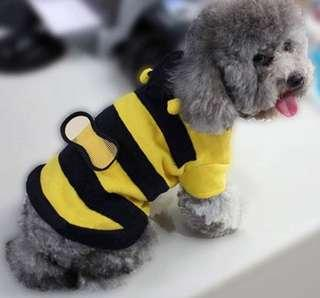 Pet bee jacket