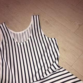 H&M Stripe Summer Dress #H&M50