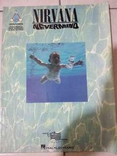 Nirvana Nevermind Guitar tablature (tab) book