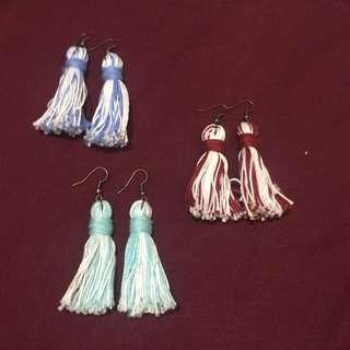 Tassel earings bundle