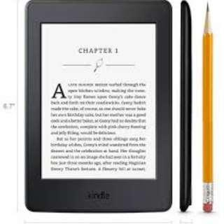 🚚 Kindle Paperwhite w touchscreen, wifi and backlight