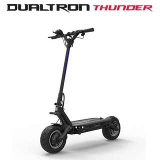 Wide range of new Dualtrons Speedway electric kickscooters aka escooters