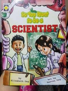 Hiyas Book So You Want to Be a Scientist
