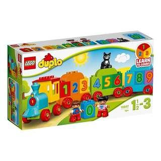 Leeogel Lego 10847 Duplo Number Train Learn To Count - New In Sealed Box