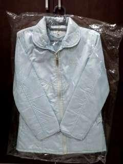 Light blue winter jacket