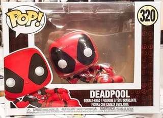 Funko Pop Deadpool laying