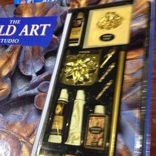 Gold art studio
