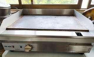 Electric griddle with flat steel top (used for six months only)