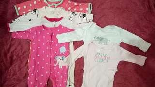baby girl clothes preloved