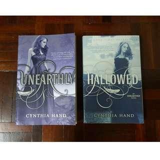 Unearthly & Hallowed by Cynthia Hand