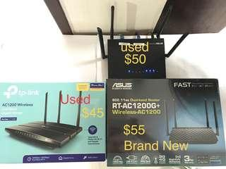 Wireless Router AC1200 dual band ASUS TP-Link 1200Mbps