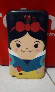 Samsung galaxy note 2 case snow white