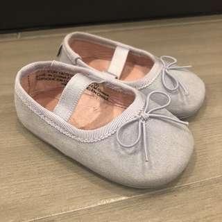 H&M Babydoll shoes (light grey)